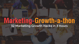 32 Marketing Ideas from a Marketing Growth-a-Thon