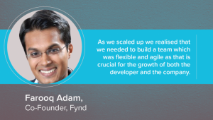Interview with Farooq Adam, Co-Founder, Fynd