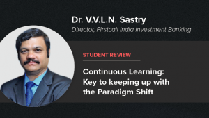 UpGrad Student Dr. V.V.L.N. Sastry on Continuous Learning