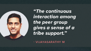 Vijayasarathy's Journey in the Realm of Big Data