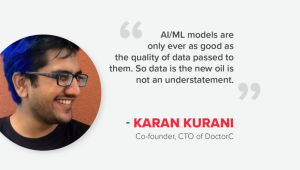 Interview with Karan Kurani, Co-founder & CTO, DoctorC