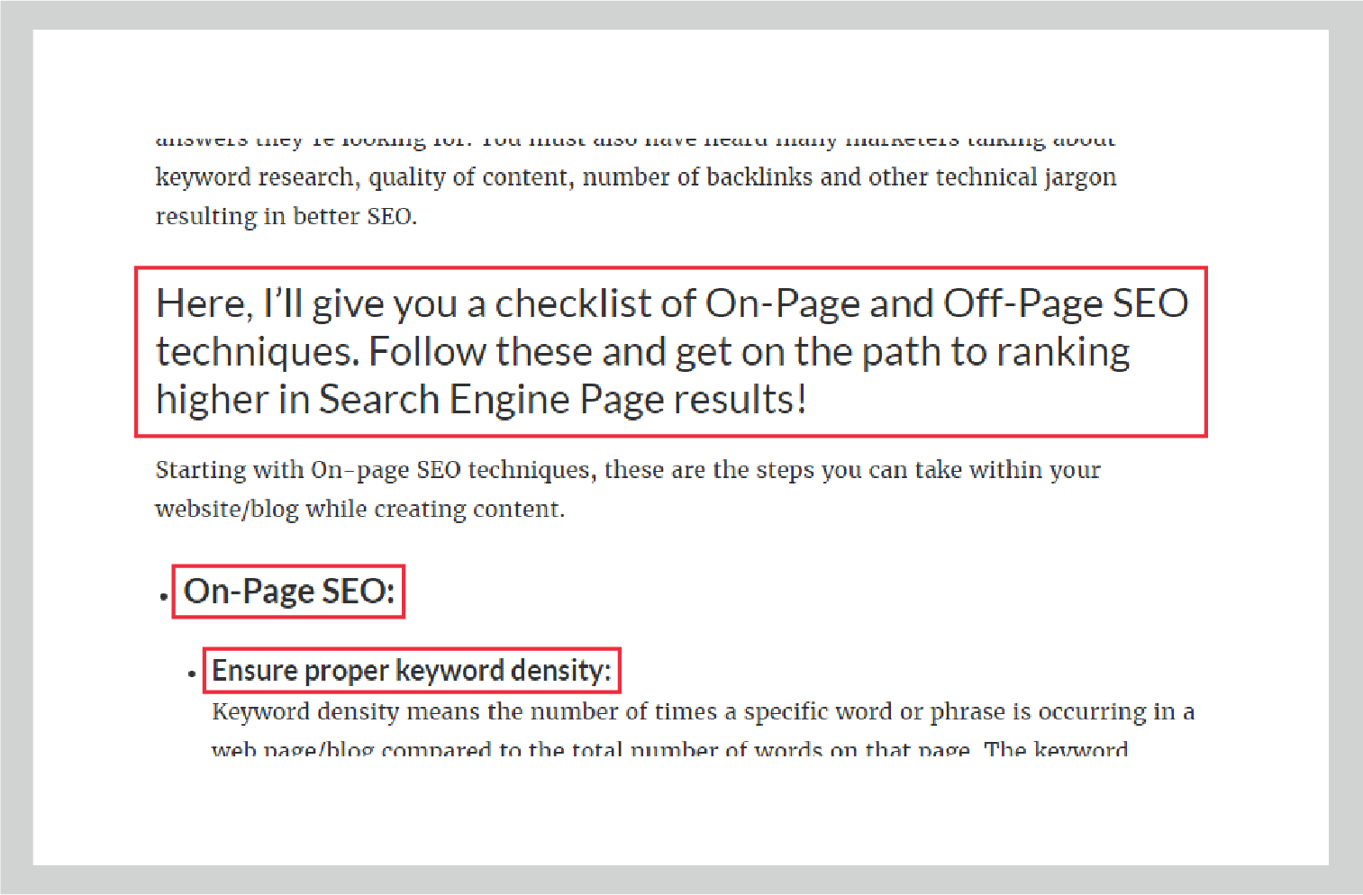 H1 H2 HTML Tags On-Page & Off-Page Techniques SEO UpGrad Blog
