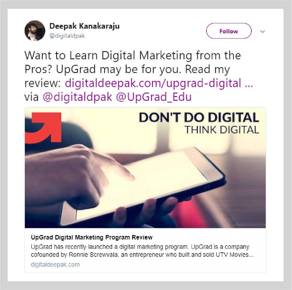 Influencer Marketing Digital Deepak On-Page & Off-Page Techniques SEO UpGrad Blog