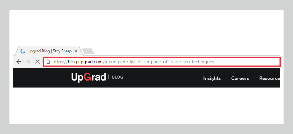 URL Structure On-Page & Off-Page Techniques SEO UpGrad Blog