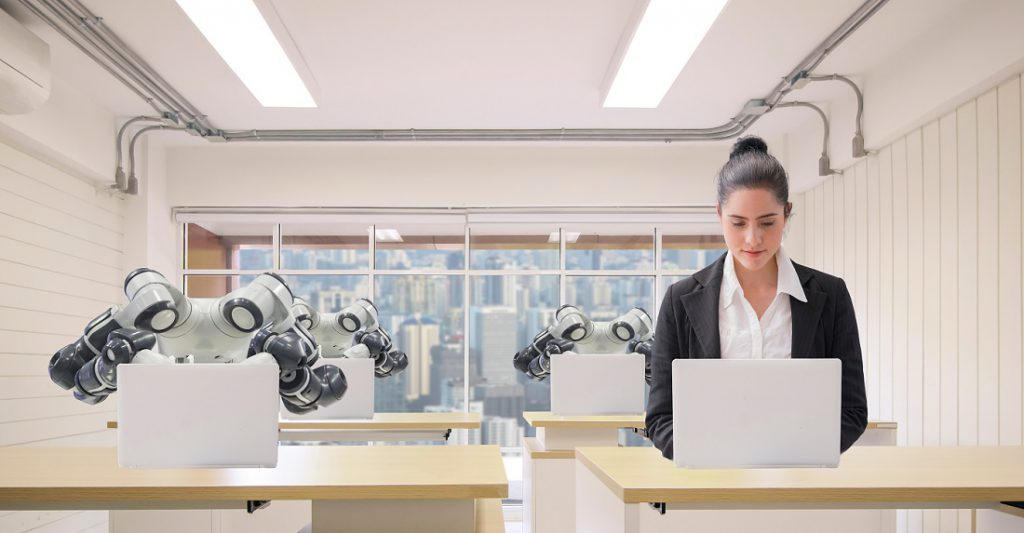 artificial intelligence works with human