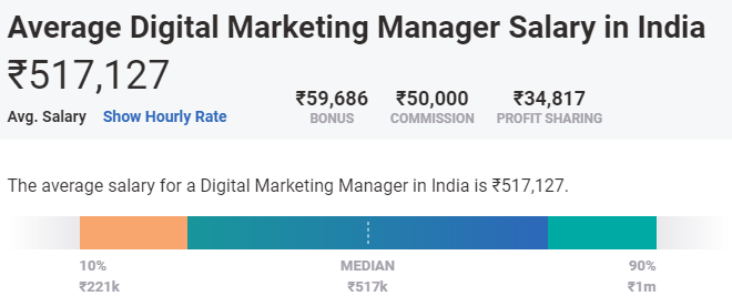 career after bcom - digital marketer