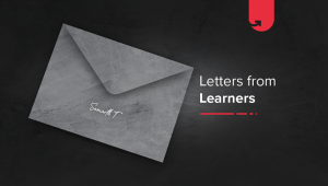 Letters From Learners: Samarth Trivedi