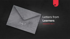 Letters From Learners: Sandeep Bhalekar