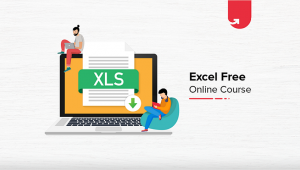 Excel Free Online Course with Certification [2020]