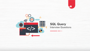 20 Most Common SQL Query Interview Questions & Answers [For Freshers & Experienced]